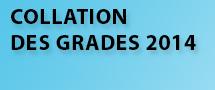 Collation des grades 2014